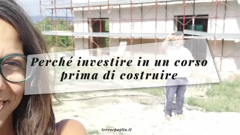 Perché investire in un corso prima di costruire